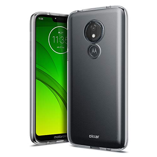- Olixar Gel Case Compatible with Motorola Moto G7 Power - Flexible Slim Protective Cover - Olixar FlexiShield - Scratch Resistant Silicone Design - Non Slip - Clear