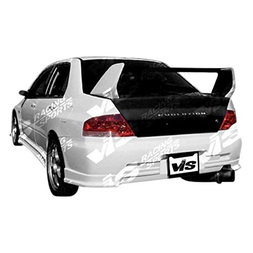 VIS Racing (VIS-QTX-681) OEM Style Trunk Carbon Fiber - Compatible for Mitsubishi EVO 8/EVO 9 2003-2007 (2003 2004 2005 2006 2007 | 03 04 05 06 07) ()