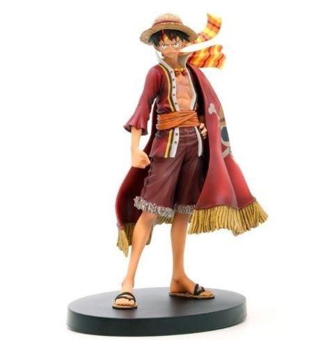 Banpresto One Piece 6.7-Inch 15th Anniversary Edition Luffy DXF Sculpture, The Grandline Men Volume 3