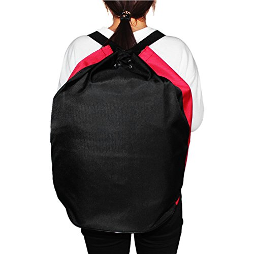 6c89777527f7 Vbestlife Taekwondo Duffle Bag Adults Portable Sanda Karate Protectors Gear  Tools Shoulders Bag Backpack Sparring Gear Duffle Bag (Black)