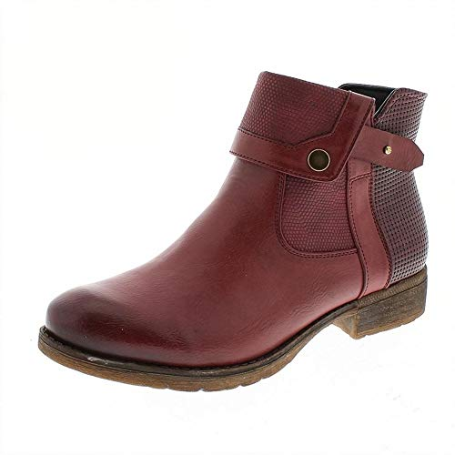 Ankle Red 01 Boot ROMIKA Wendy xTqYCBww