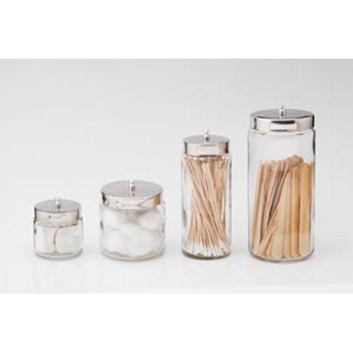 Dressing Jar & Cover, 4'' x 4'' 6 pk