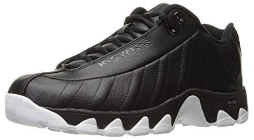 K-swiss Mens St329 Cmf Moda Sneaker Nero / Nero / Bianco