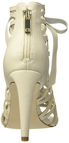 Dress Back avorio Pumps Woman Shootie Footwear Guess Ecru Bridle crema wXq6SAE