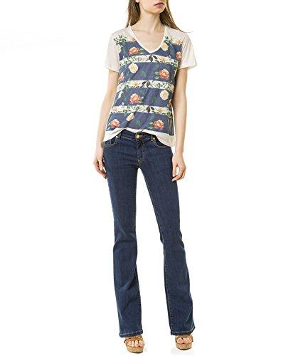 Camiseta con estampado floral Estampado