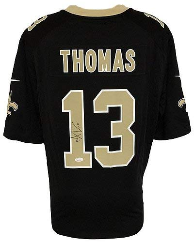 ceefdf2470d Michael Thomas Signed Autographed New Orleans Saints Black Nike Game Replica  Jersey JSA Certified Itp