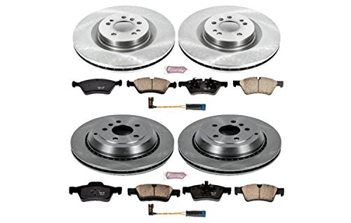 Autospecialty KOE6707 Daily Driver 1-Click OE Replacement Front/Rear Brake Kit
