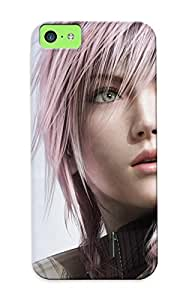 Freshmilk High Quality Final Fantasy Xiii Claire Farron Case For Iphone 5c / Perfect Case For Lovers