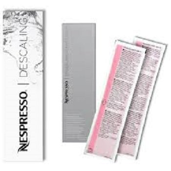 Original Nespresso Cleaning and Descaling Kit (Descaler Machine Nespresso)