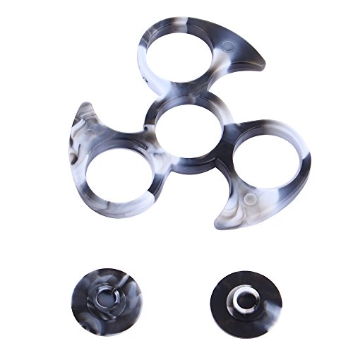 willsa-new-fashion-without-608-bearing-frame-shell-for-tri-spinner-hand-spinner-edc-fidget-toy-black