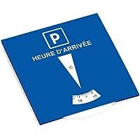 Autocollant-immatriculation Disco de estacionamiento de zona azul, francés