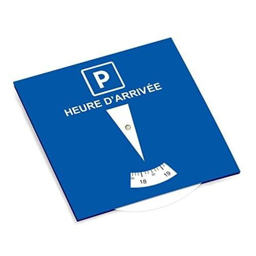Disque stationnement zone bleue durable modeling