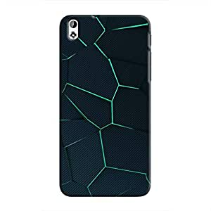 Cover It Up - Cyan Fractures Desire 816 Hard case