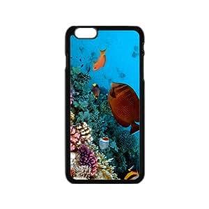 Unique Sea World Hight Quality Plastic Case for Iphone 6
