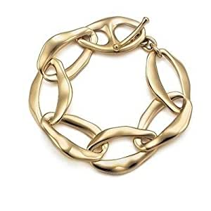 Tiffany And Co Bracelet Metal Ring Gold 091