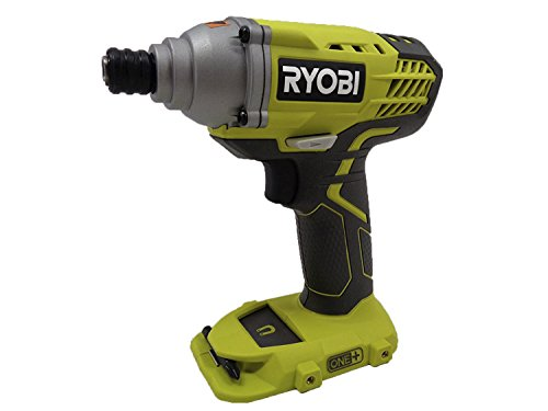 (Ryobi P235 1/4 Inch One+ 18 Volt Lithium Ion Impact Driver with 1,600 Pounds of Torque (Battery Not Included, Power Tool Only))