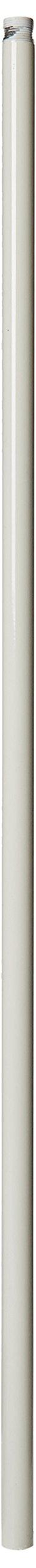 Hunter 25140 48-Inch Standard Standard Extension Downrod, White