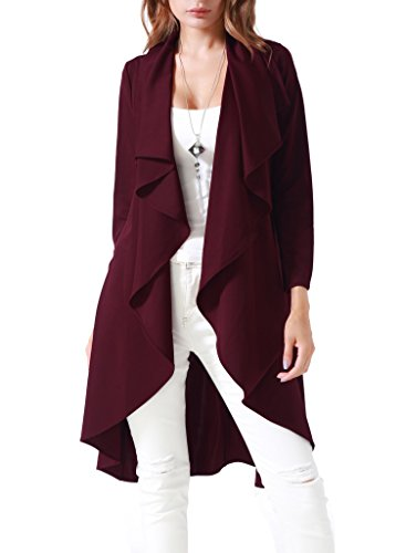 Costyleen Sleeve Casual Jacket Trench