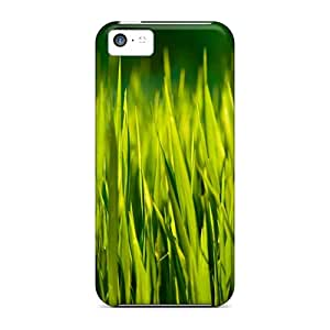 New Iphone 5c Case Cover Casing(summer Grass Macro)