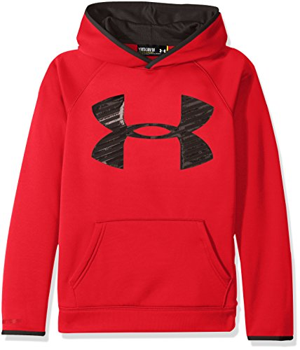 Under Armour Jungen Af Storm Highlight Hoody Fitness-Sweatshirts, Red, YL