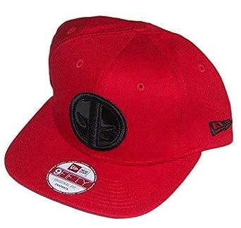 006962bc4 New Era Cap Men's Deadpool Hero Shine 9Fifty Snapback, Red, One Size ...