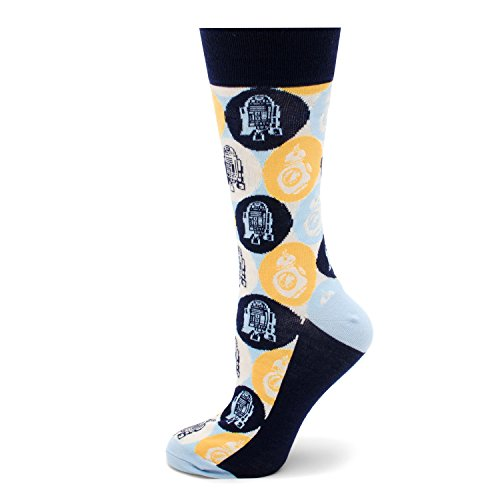Star Wars R2D2 and BB-8 Pop Art Socks, Officially Licensed -