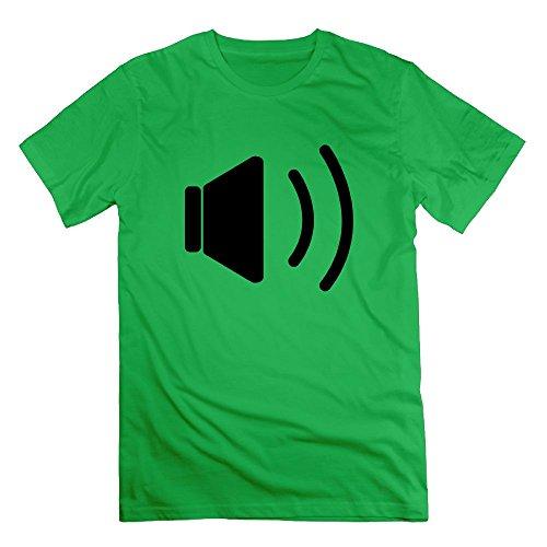 Thelover8 Men's Sound F1 T-Shirt - M ForestGreen
