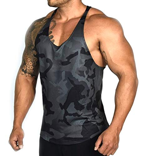 Séchage Débardeur Running Gym Musculation Noir Rapide Hommes Manches Sans Sport shirt T Respirant OEwnnFPdqx