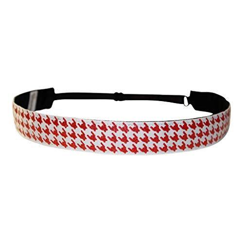 - BEACHGIRL Bands Red Headband Non Slip Adjustable Hair Band For Women & Girls Alabama