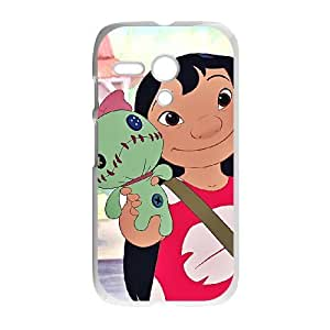Motorola Moto G Phone Case White Lilo &amp Stitch Lilo Pelekai NMH8414899