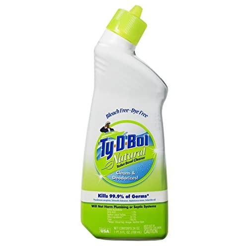 durable service Ty-D-Bol Natural Toilet Bowl Cleaner (12)
