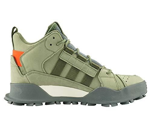 new product 636c5 5d7ff Deporte De Zapatillas Hombre Originals Otra Adidas Piel Verde 1qEtv5