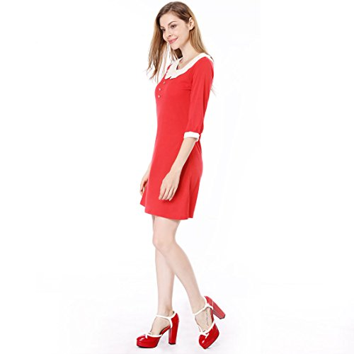 K Red Plateforme Bar Femme Chaussures De Cour Allegra T wOPXiuTkZ