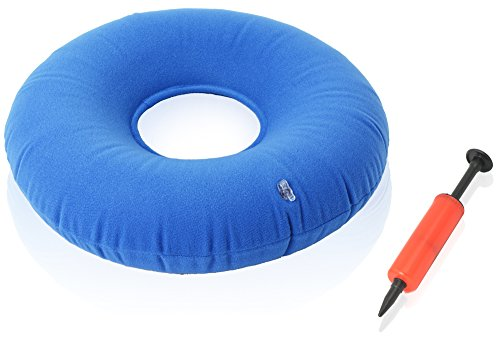 Dr-Fredericks-Original-Donut-Cushion-Inflatable-Ring-Cushion-Hemorrhoid-Treatment-Bed-Sores-Coccyx-Tailbone-Pain