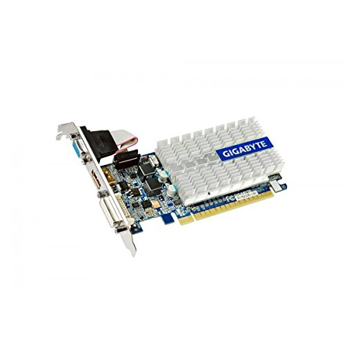 Video Geforce Card 210 (GIGABYTE GeForce 210 Silent 1GB DDR3 DVI-I / D-Sub / HDMI Low Profile Graphics Card, GV-N210SL-1GI)