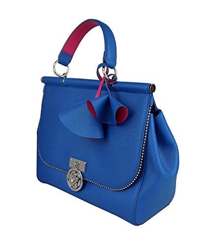24 Azul Bolso Cuero Turquesa De Guess Para X Mujer 28 Asas 12 AY4cvS1n