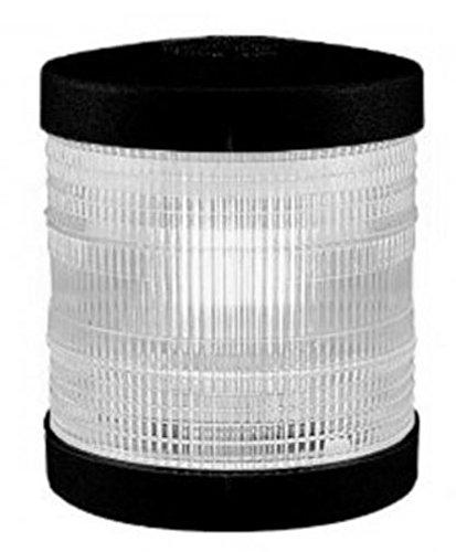 Aqua Signal Series 25 Feu de navigation Blanc Boîtier noir