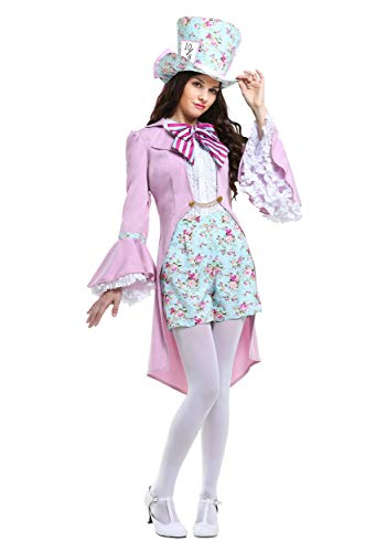 The Mad Hatter Makeup - Pretty Mad Hatter Women's Costume X-Large