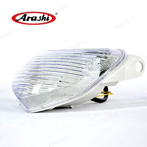 (Arashi Taillight for SUZUKI GSXR600 GSXR750 2004 2005 Turn Signal Brake Tail light Integrated Motorcycle Accessories GSX-R GSXR 600 750 GSX-R600 GSX-R750 Clear Lens)