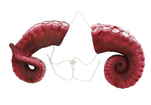 Tentacle Horns - Large - by (Davy Jones Adult Costume)