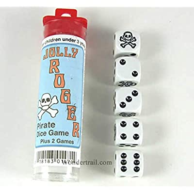 Jolly Roger Dice by Koplow Games: Toys & Games