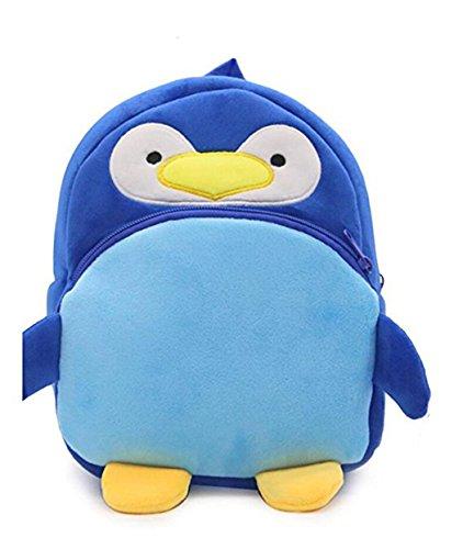 Strawberry Kid School Backpack Bookbags Kindergaten Toddler Bags Child Cartoon Bags Penguin School Shoulder HwPZn