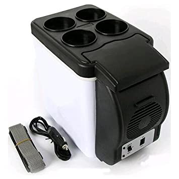 MWGears 11345 6L Travel / Car Cooler & Warmer w/ Four Cup Holder- 6L Capacity