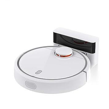 Ydq Robot Aspirador Barrendero,Inteligente Carga Automática Mejorada Excelente Aspiradora/Succión Fuerte/Sensor Infrarrojo/Sensor De Caída 1800Pa: ...