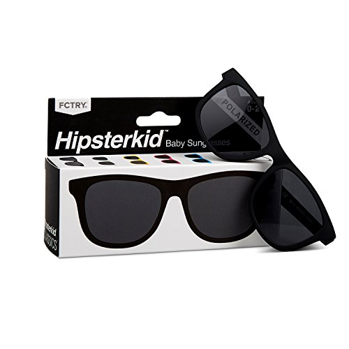 Hipsterkid BPA Free, Warranty Protected, Polarized Sunglasses for Babies, Ages...