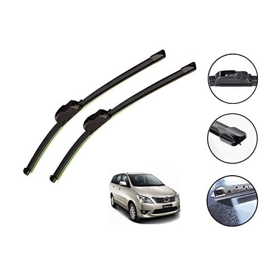 Auto Hub Car Wiper Blades for Innova - Set of 2 Pcs (D-24,P-16)