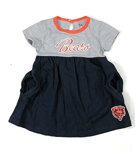 Outerstuff Chicago Bears Football Girls Baby Doll Dress Clothing Apparel