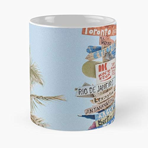 (Nature Landscape Trendy Travel - 11 Oz Coffee Mugs Unique Ceramic Novelty Cup, The Best Gift For Holidays.)
