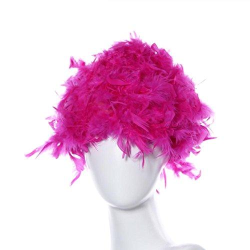 Hot Pink Flapper Wig - 5