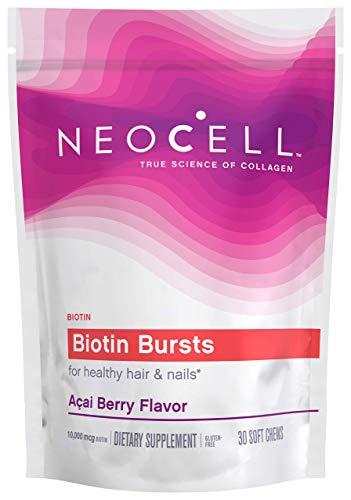 Best NeoCell - Biotin Burst - Brazilian Acai Berry - 30 Chews (Packaging May Vary)